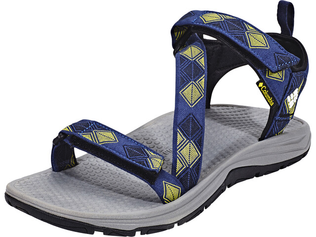 ead97cce208 Columbia Wave Train Sandals Men yellow blue at Addnature.co.uk